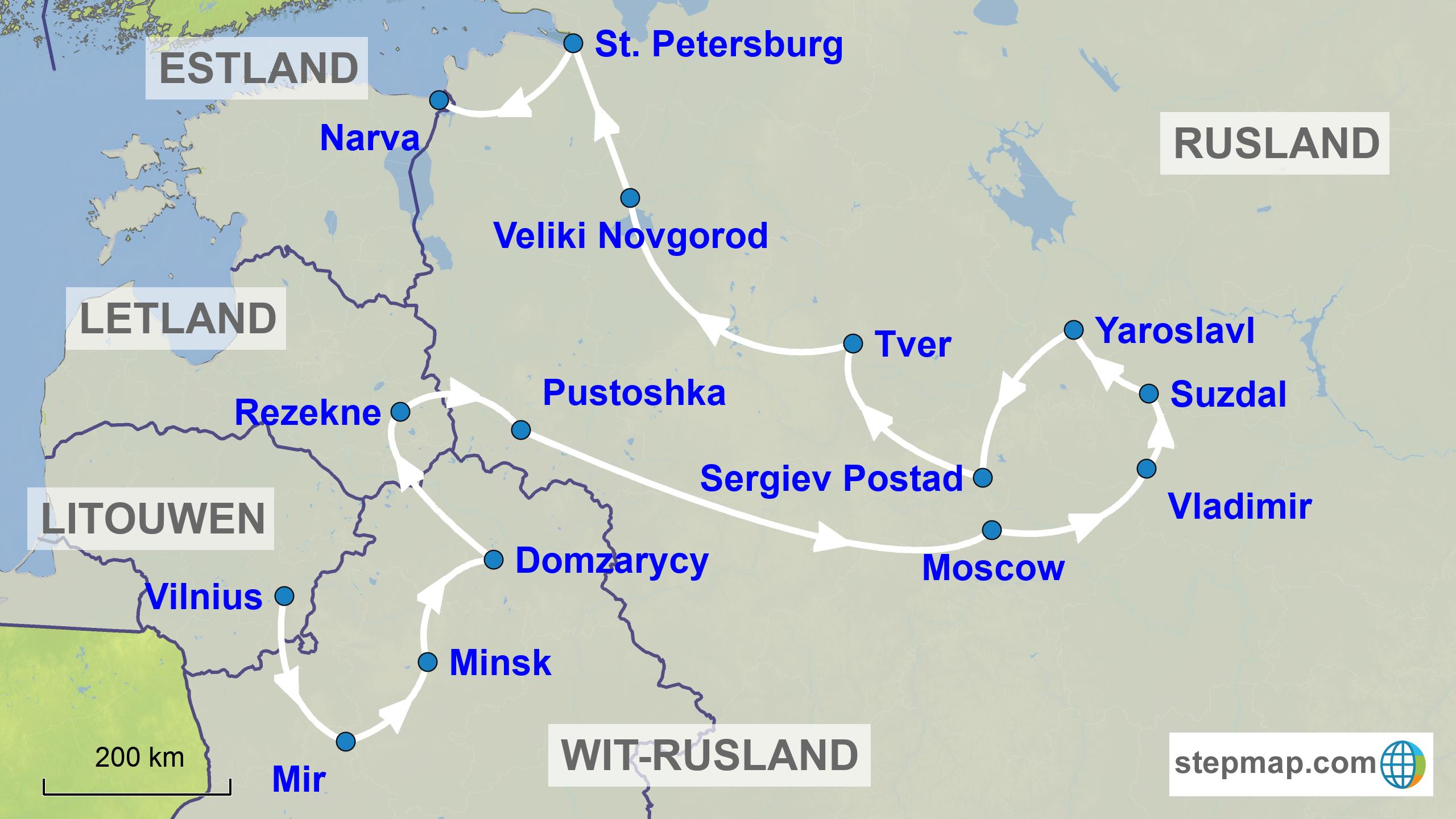 Wit-Rusland - Rusland